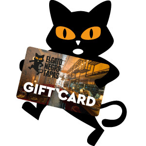 elgatonegro-cat-and-card