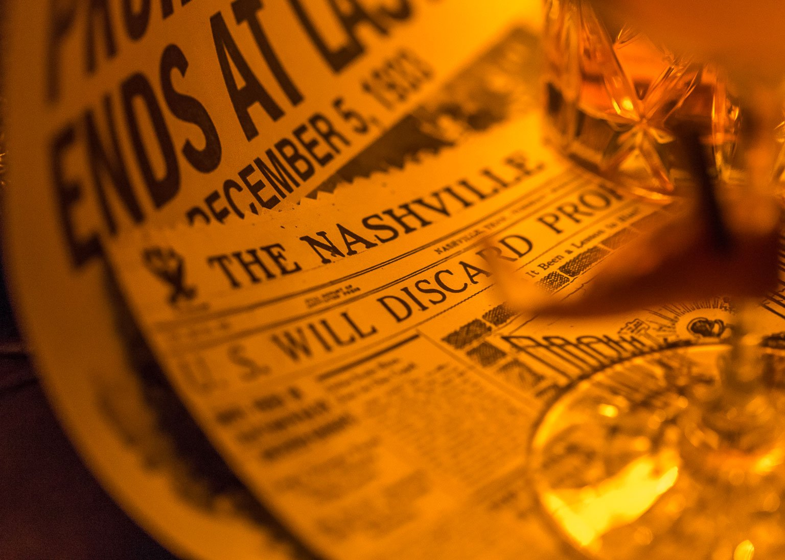 Repeal Day newspapers