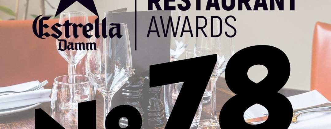 El Gato Negro at 78 in National Restaurant Awards 2017