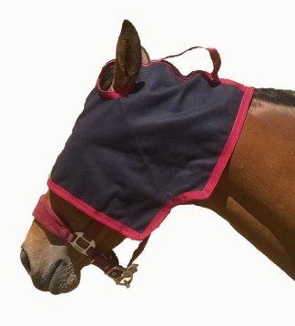 Cache œil pour chevaux en laine caban