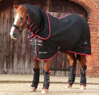 Chemise infrarouge chevaux