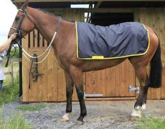 couvre reins cheval impermeable