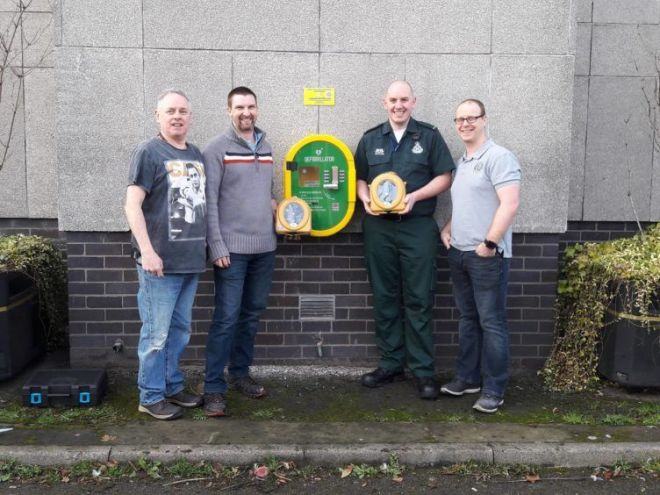 Thank you to Ken and Defibs for Moray for providing this great service by…