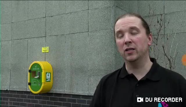 Report from Wednesdays STV News on Defibs for Moray the group who provided the…