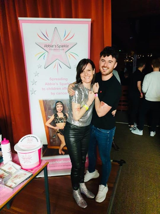 Great to hear the Abbey Sparkle tattoos raised £210 for Children with cancer on…