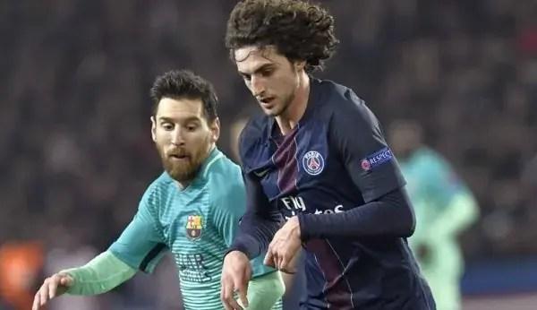 Messi vs Rabiot