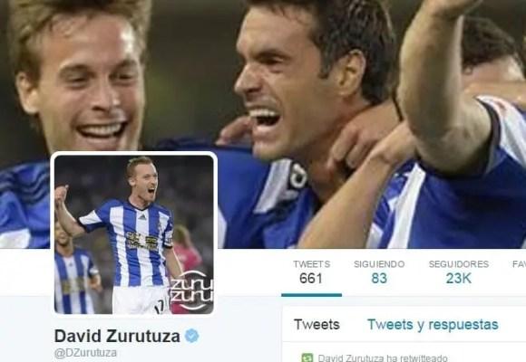@Dzurutuza, jugador del Real Sociedad, pretende reírse de Griezmann publicando esta foto en Twitter 1