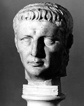 Tiberio Claudio César Augusto Gérmanico, emperador romano sucesor a Caligula.