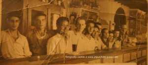 Bar San Diego década de los cincuenta.