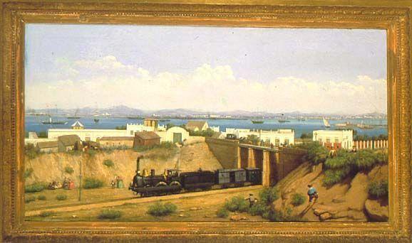 Primer Puente construido en la Casería