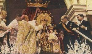 Coronación de la Virgen del Carmen