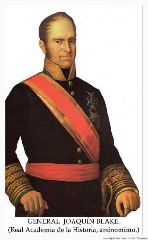 General Blake. Fuerte de Matagorda