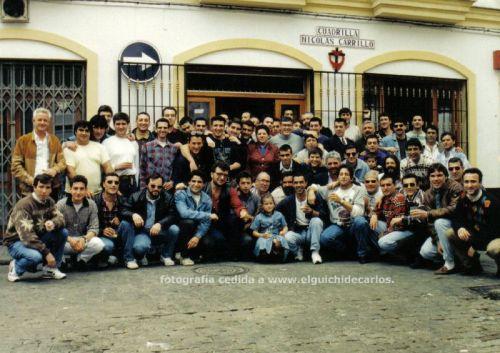 Cuadrilla Nicolas Carrillo. Hermandad de los cargadores