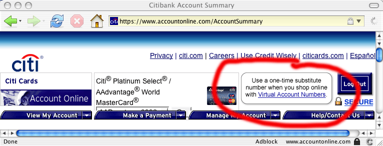 Bank Routing Number Citibank