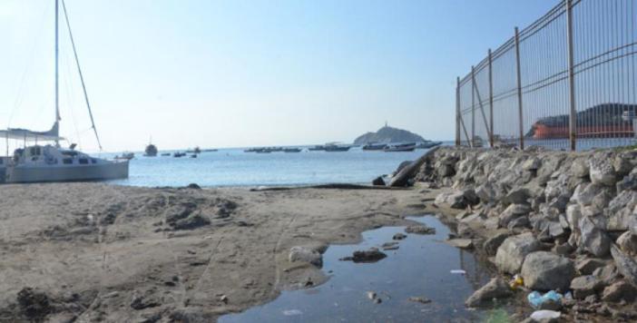 Resultado de imagen para erosion en la bahia de santa marta