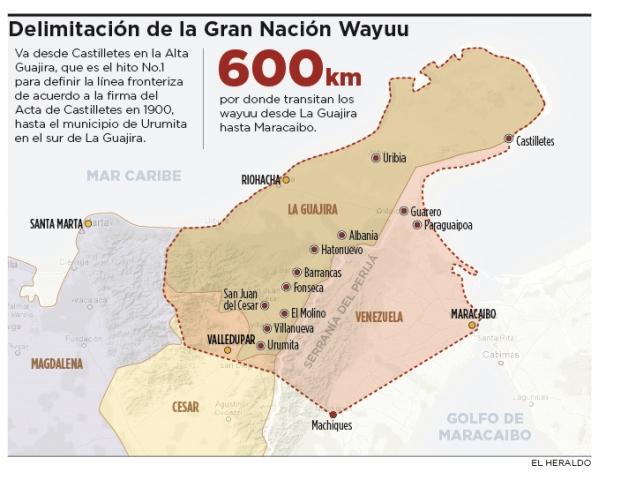 Frontera De Colombia Y Venezuela