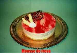 MOUSSE FRESA