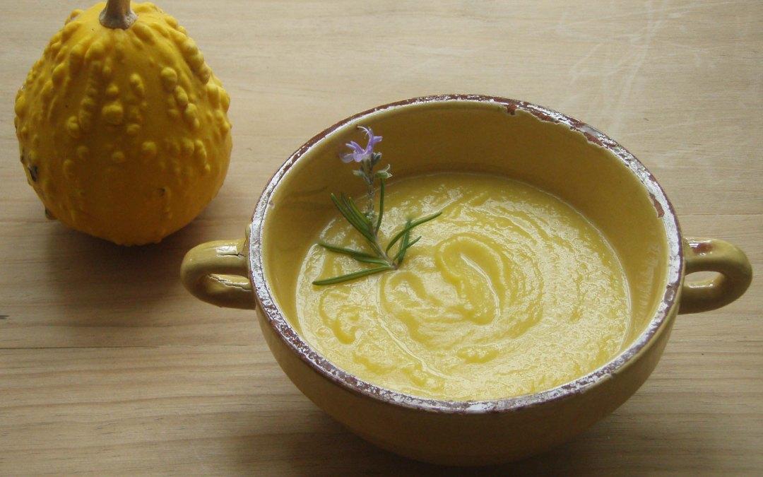Crema de Calabaza sencilla