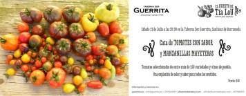 Tomates con Sabor y Manzanillas Mayeteras, para no perdérselo en Der Guerrita
