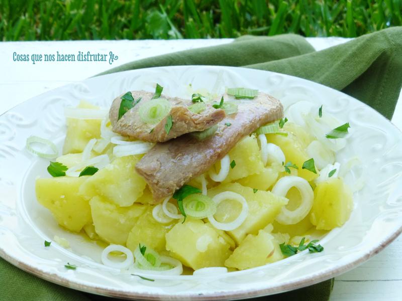 Papas aliñás - Potato salad