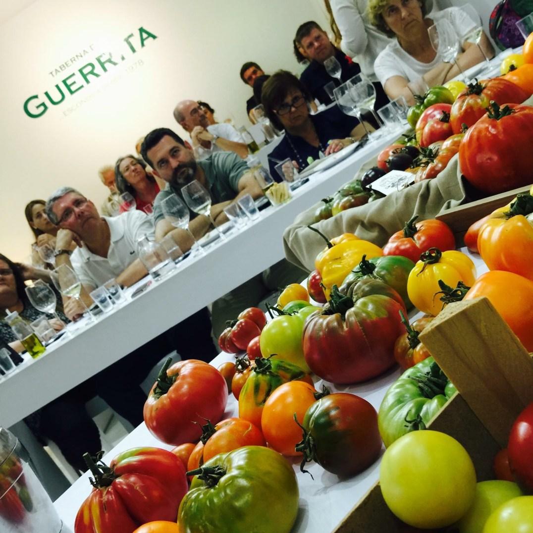 Cata de tomates con sabor El Huerto de Tía Lou & Er Guerrita