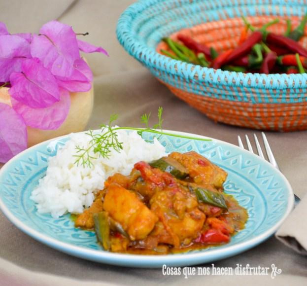 Curry de pollo con verduras, mi receta indú by Tia Lou-2