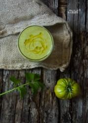 Receta de Salmorejo verde especiado
