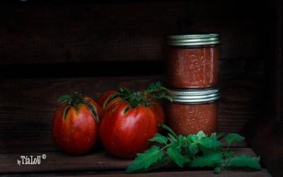 Receta de passata de tomate casera