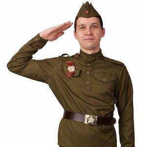 Взрослый взрослая военная форма Солдат, 44 размер купить в ...