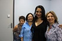Rosa, Almecir e Wal