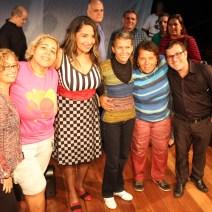 Abraços Fafá, Miriam, Bete, Ruth Anderson