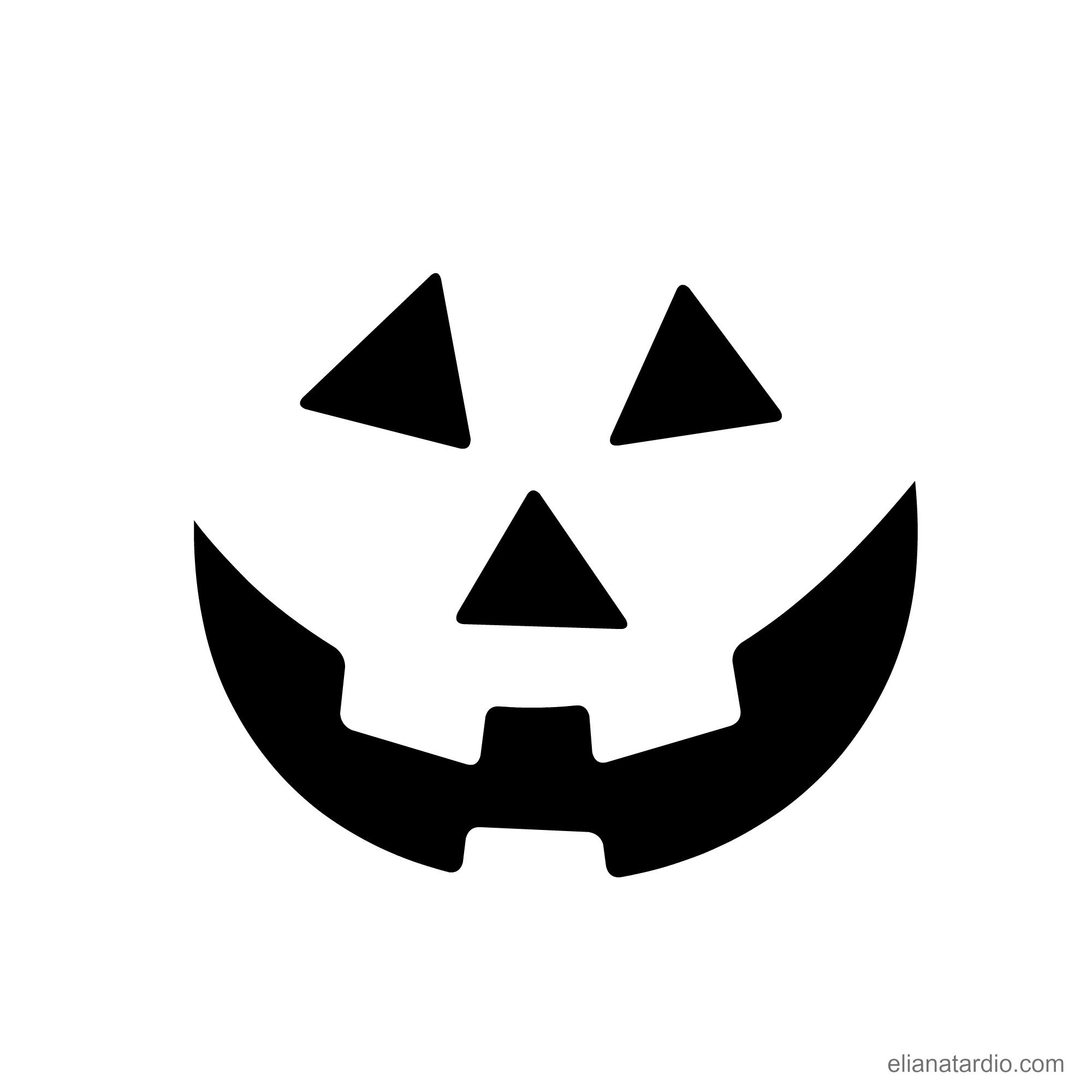 Hermosa Recortes De Halloween Para Imprimir Cresta - Dibujos Para ...