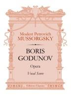 Boris Godunov. Opera. Vocal Score. Modest Mussorgsky
