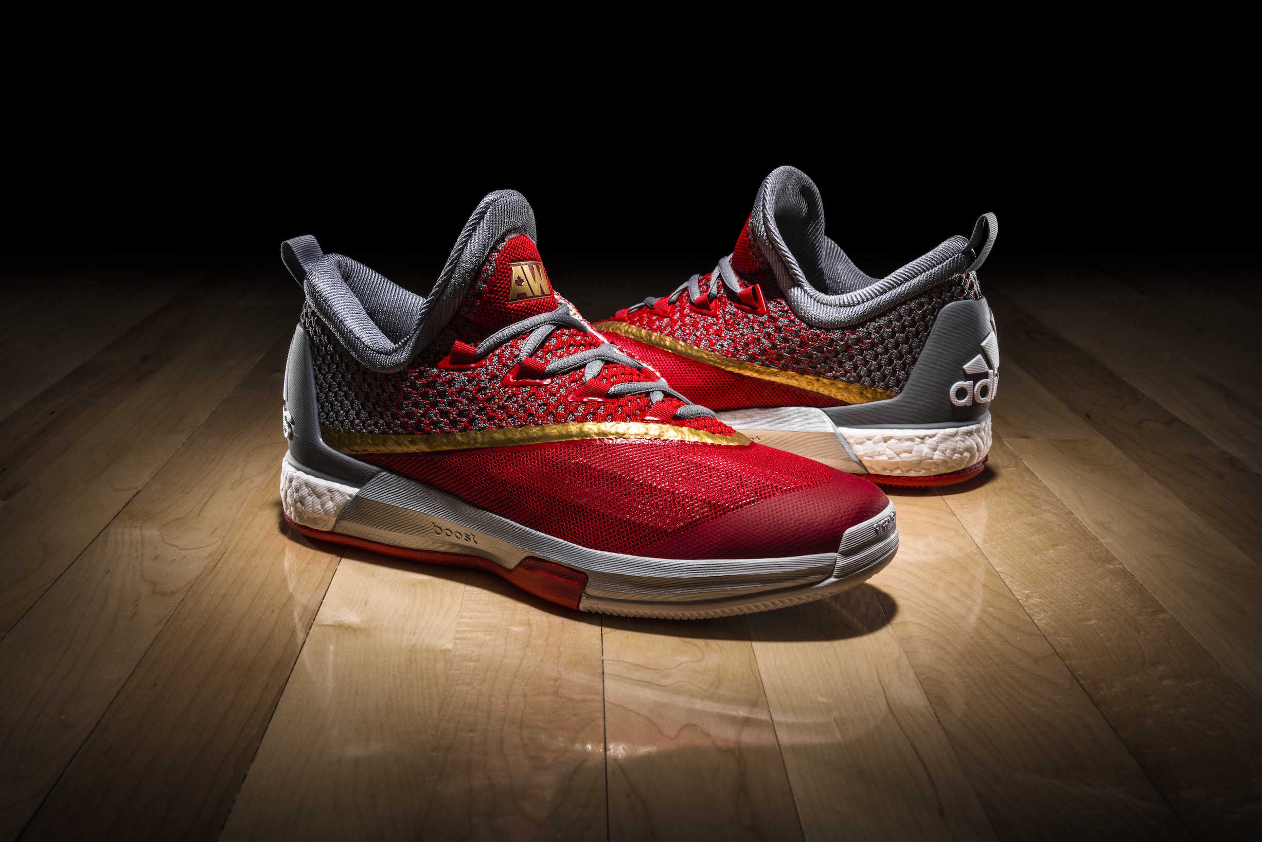 online retailer 1ddc2 b4fe4 HomeLifestyleAdidas and Andrew Wiggins unveil new Crazylight Boost 2.5 PEs
