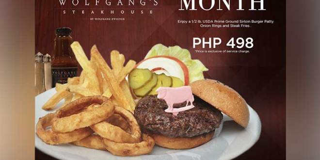 Your New Favorite Burger is at Wolfgang's Steakhouse