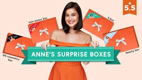 Anne Curtis celebrates 5.5 Shopee Super Sale