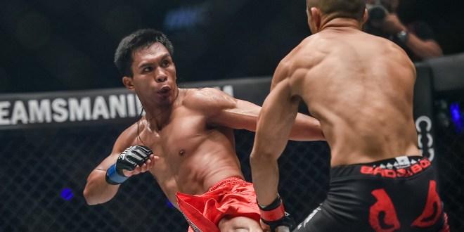 Kevin Belingon dominates Martin Nguyen
