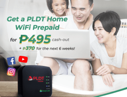 Get PLDT Home Prepaid WiFi powered by Smart LTE sim