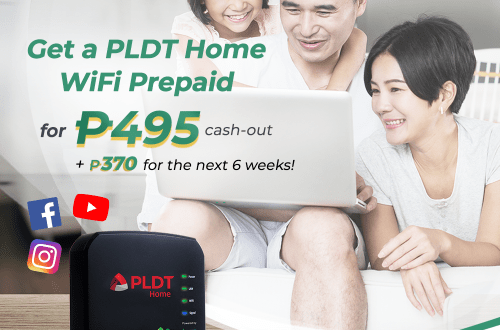Get PLDT Home Prepaid WiFi powered by Smart LTE sim