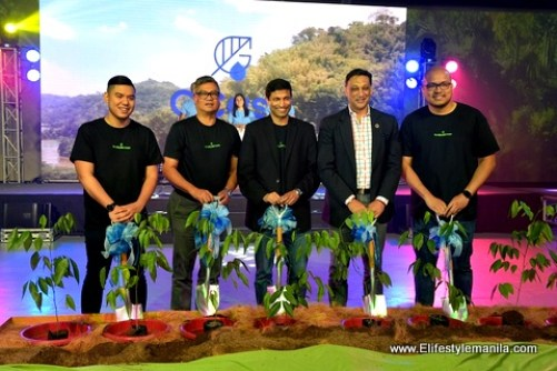 GCash encourages all Filipinos to plant a tree to save the planet