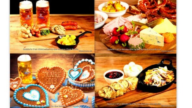 Come and join Oktoberfest at the Solaire Tent on October 15 - 17