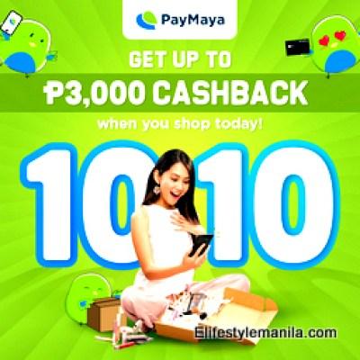 10/10 Paymaya deals