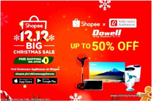 Great Deals for appliances at Robinsons Appliance in Shopee