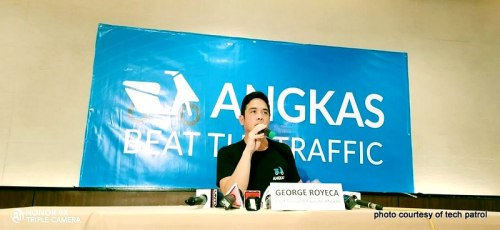 George Royeca speaks in a presscon today
