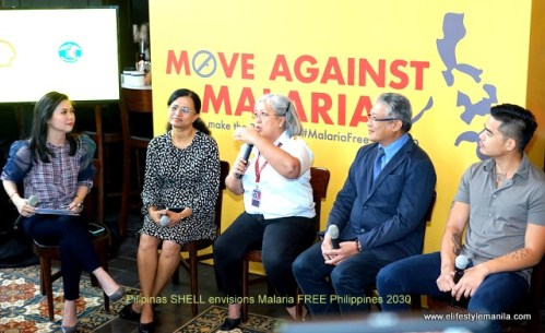 Pilipinas SHELL envisions Malaria FREE Philippines 2030