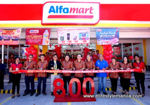 Alfamart opens its 800th store