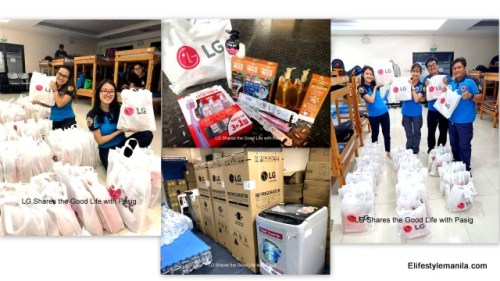 LG Shares the Good Life with Pasig