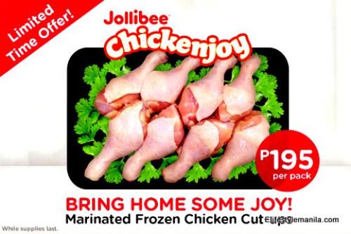 Alfamart stores now offers frozen Jollibee Chickenjoy