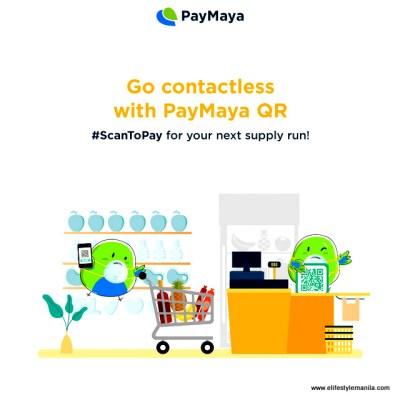 Don't pay cash, Paymaya