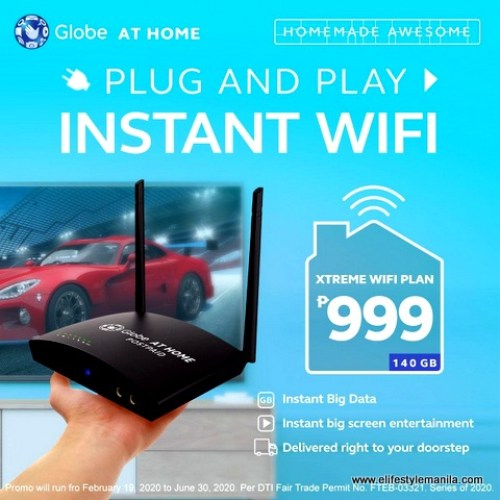 Plug and play instant wifi for home and other applications
